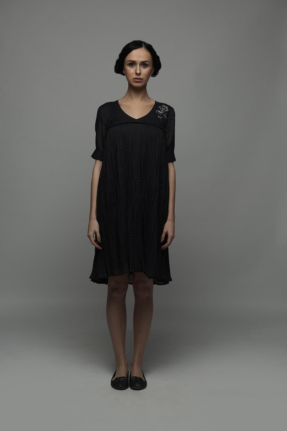 The Chimera Dress in Black