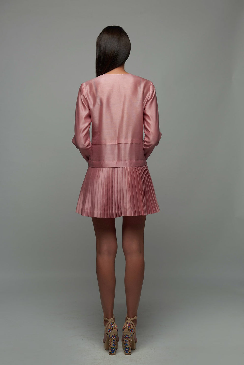 The Elysium Dress in Soft Rose