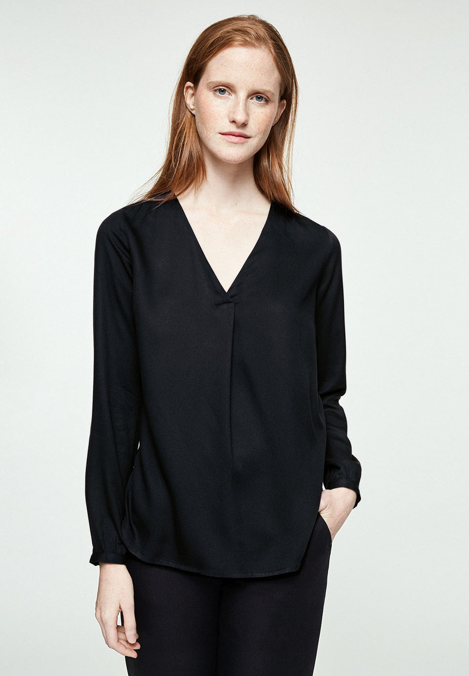 Felicitaas Blouse in Black