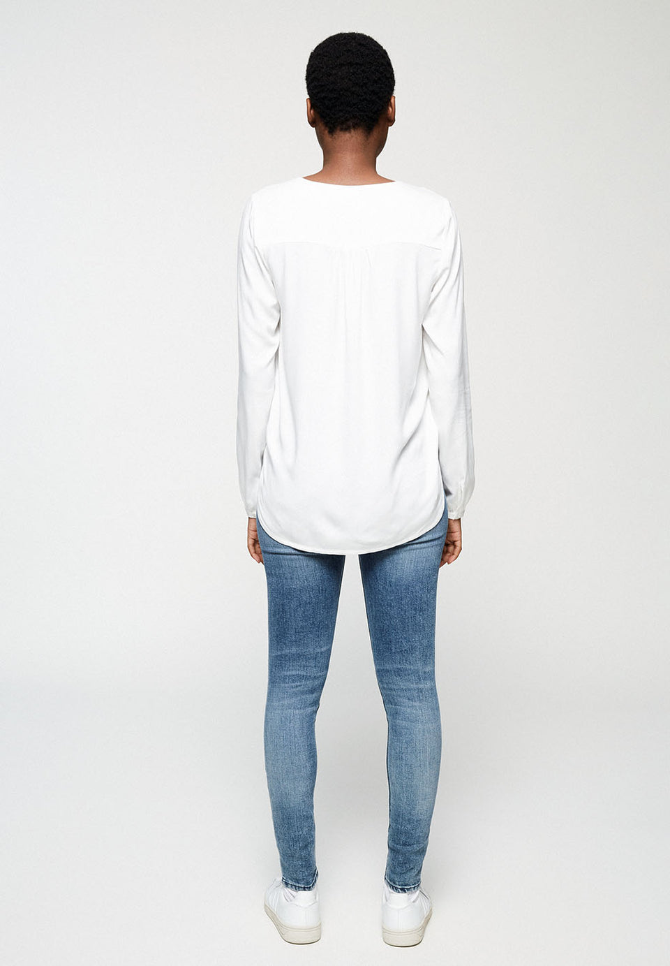 Felicitaas Blouse in White