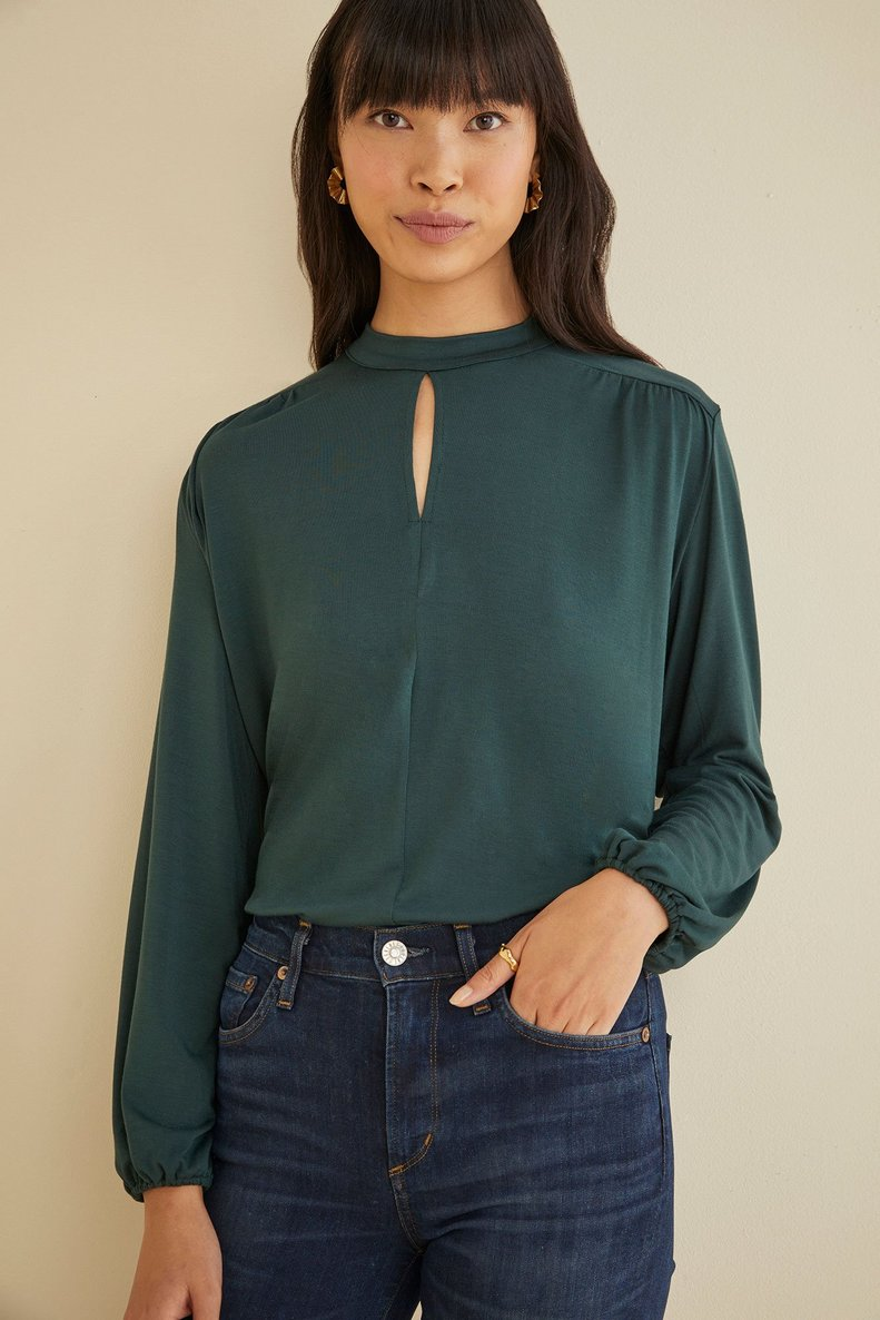Seda Top in Darkest Spruce