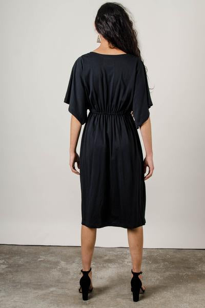 Athena Dress in Black
