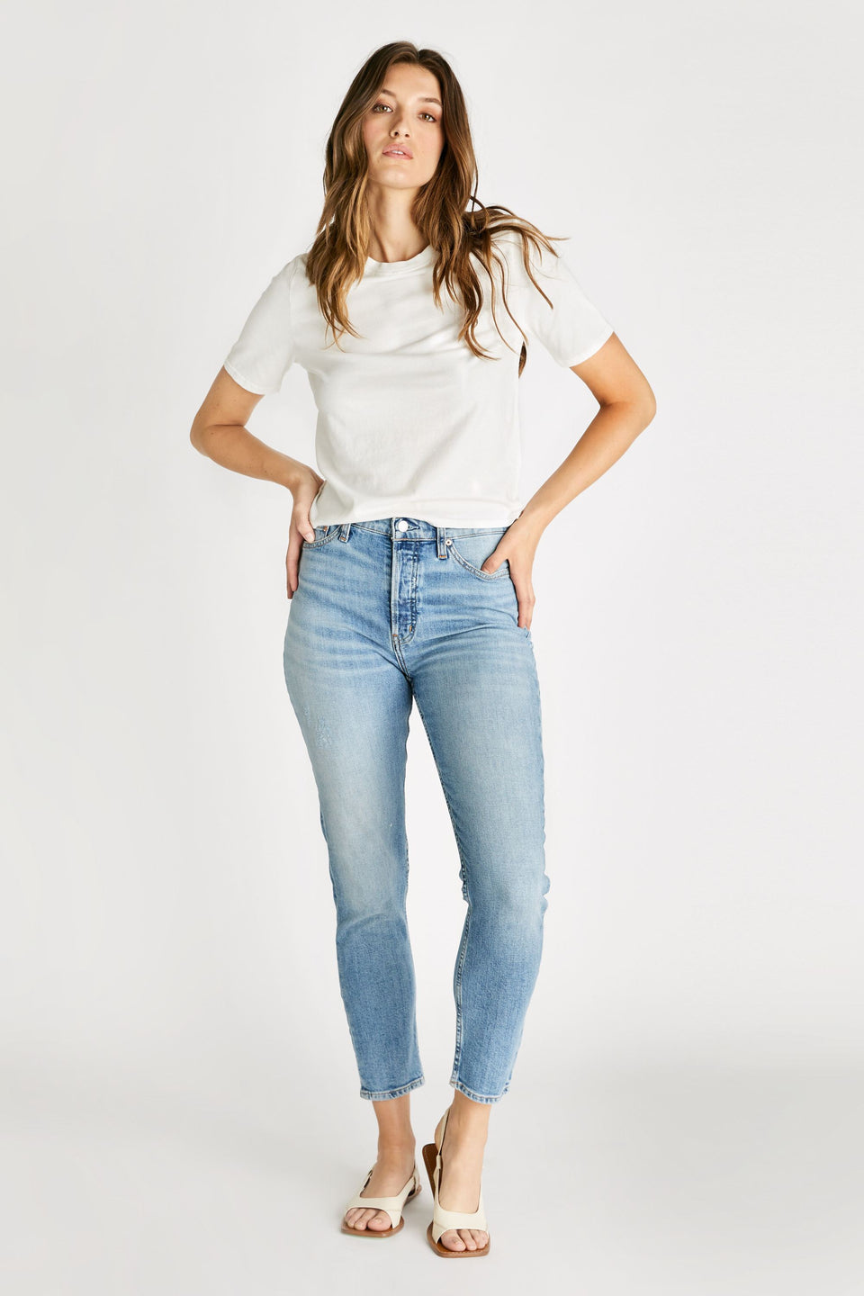 Alex High Rise Skinny in Vintage Light
