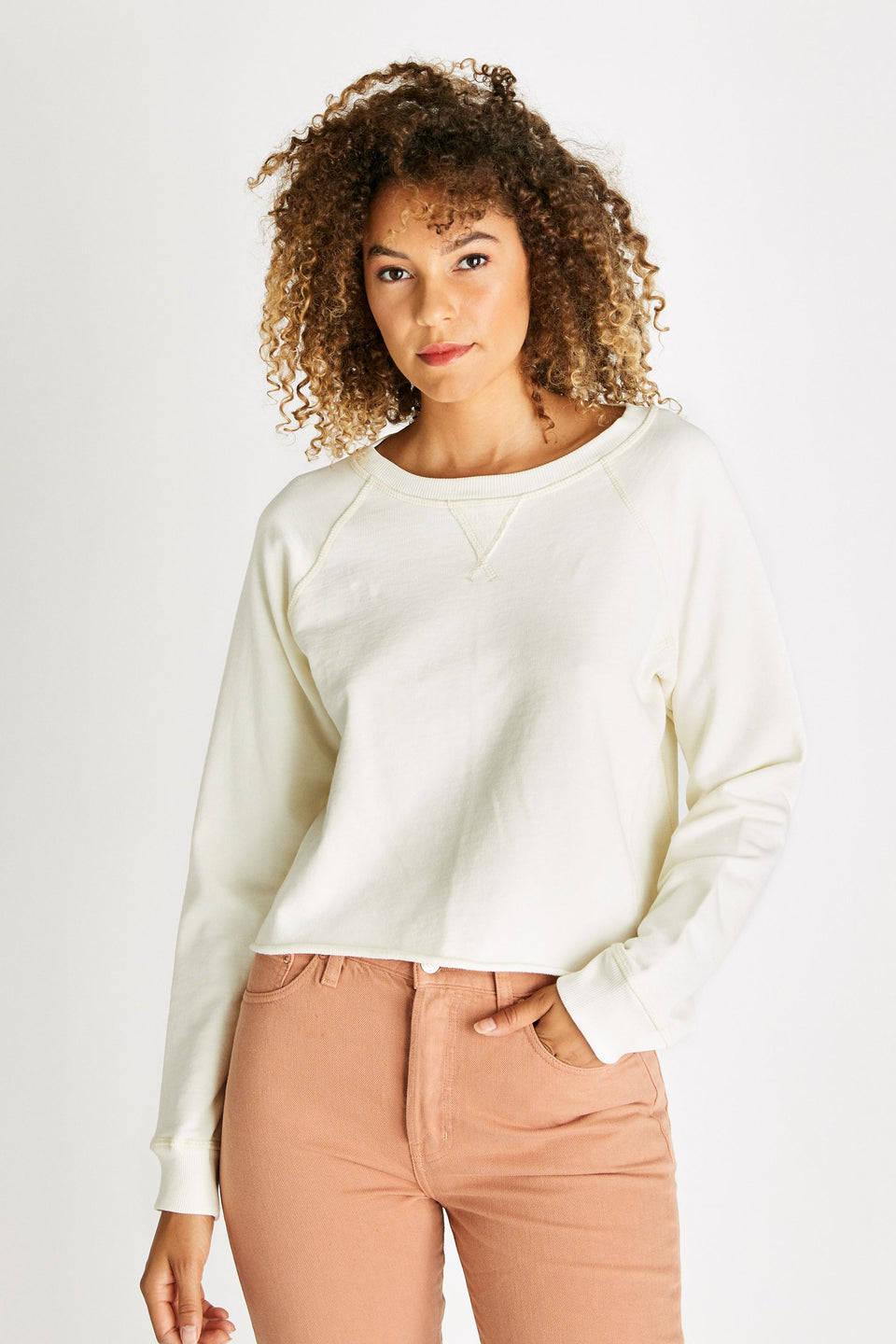 Yara Sweatshirt in Cream