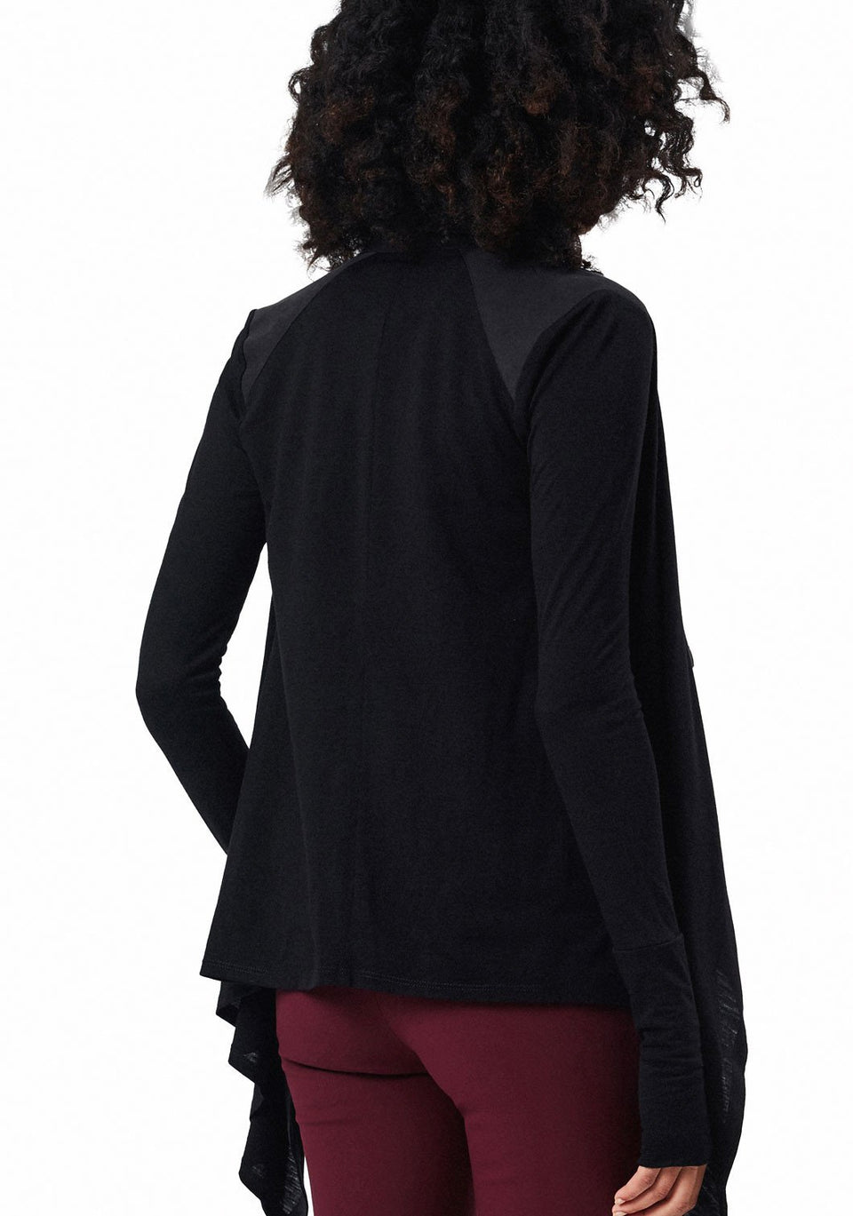 Good-to-Go Cardigan in Black