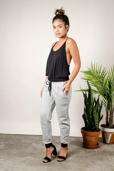 Srey Leak Trouser - Grey
