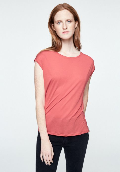 Jilaa T-Shirt in Pink Rose