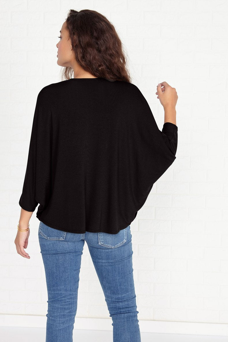 Nalia Cardigan in Black