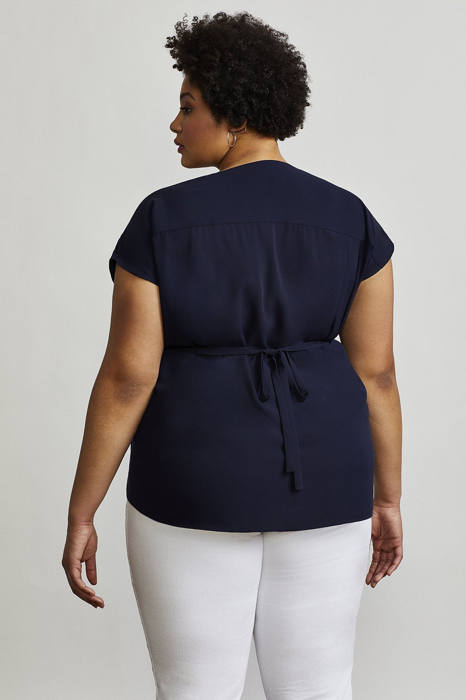 Hudson Blouse in French Navy