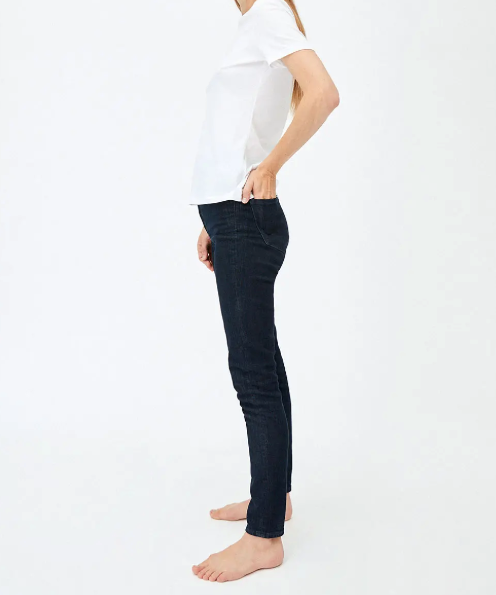 Ingaa Skinny Fit High Waist in Rinse