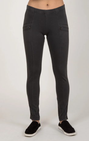 Essential Riding Pant in Charcoal