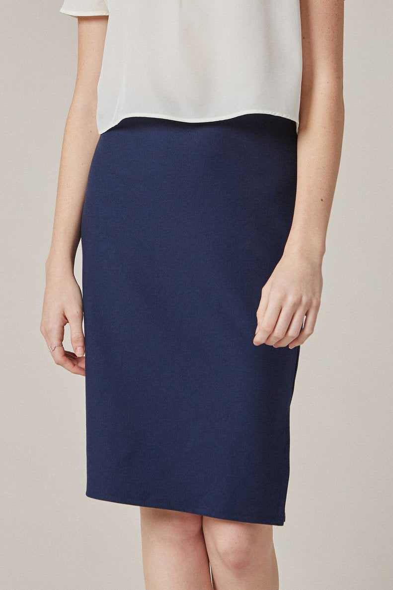 Bessie Pencil Skirt in Navy