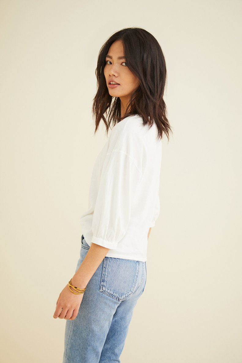 Clarissa Top in White