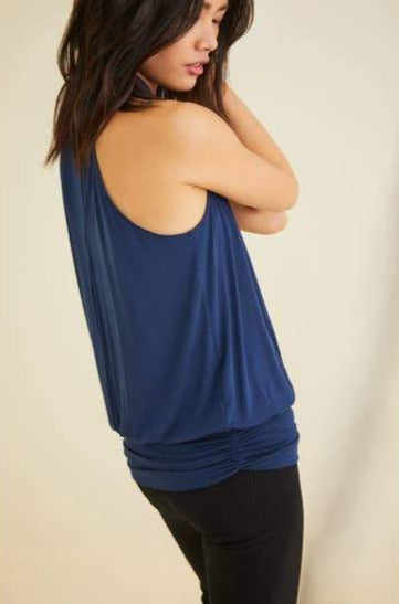 Agnes Top in Navy