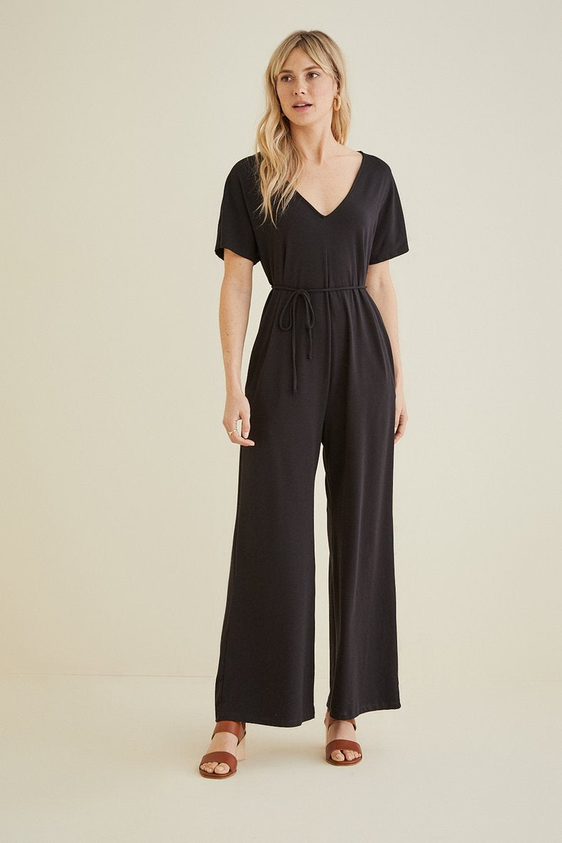 Laurelei Jumpsuit in Black