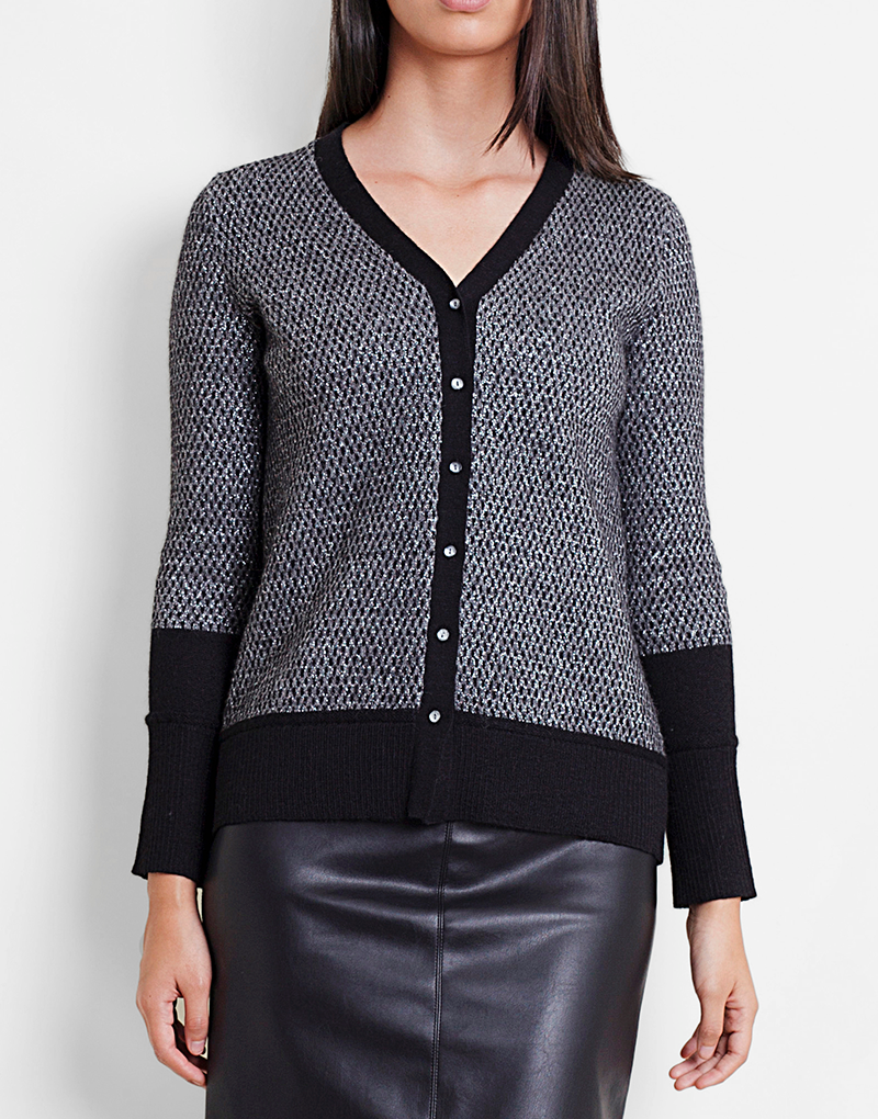 Luxe Cardigan in Black