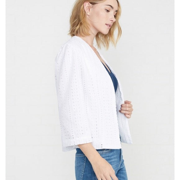 Georgina Jacket in White