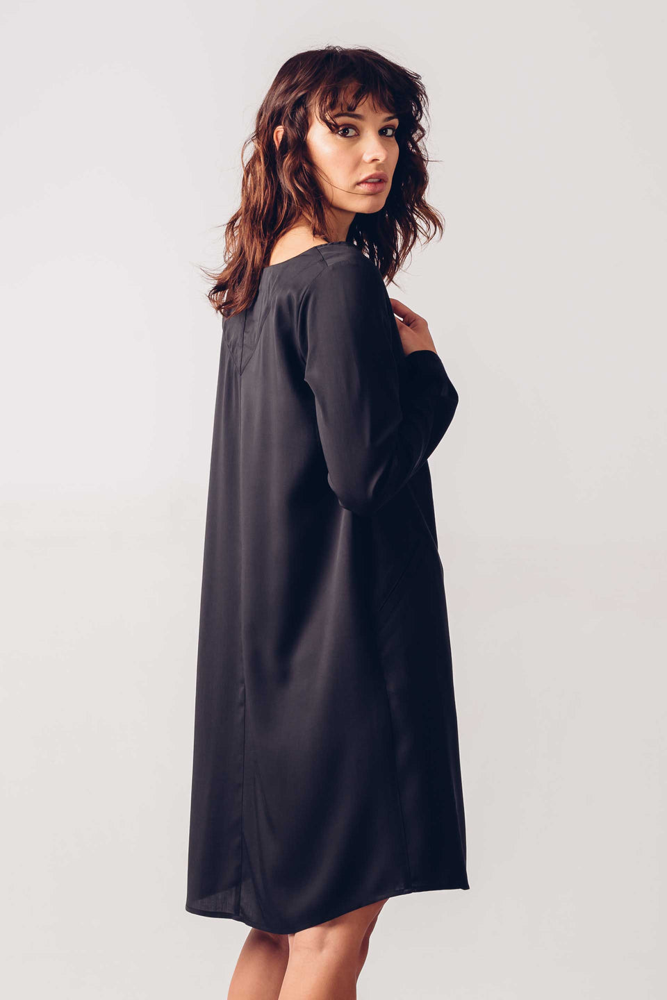 Uhabia Dress in Black