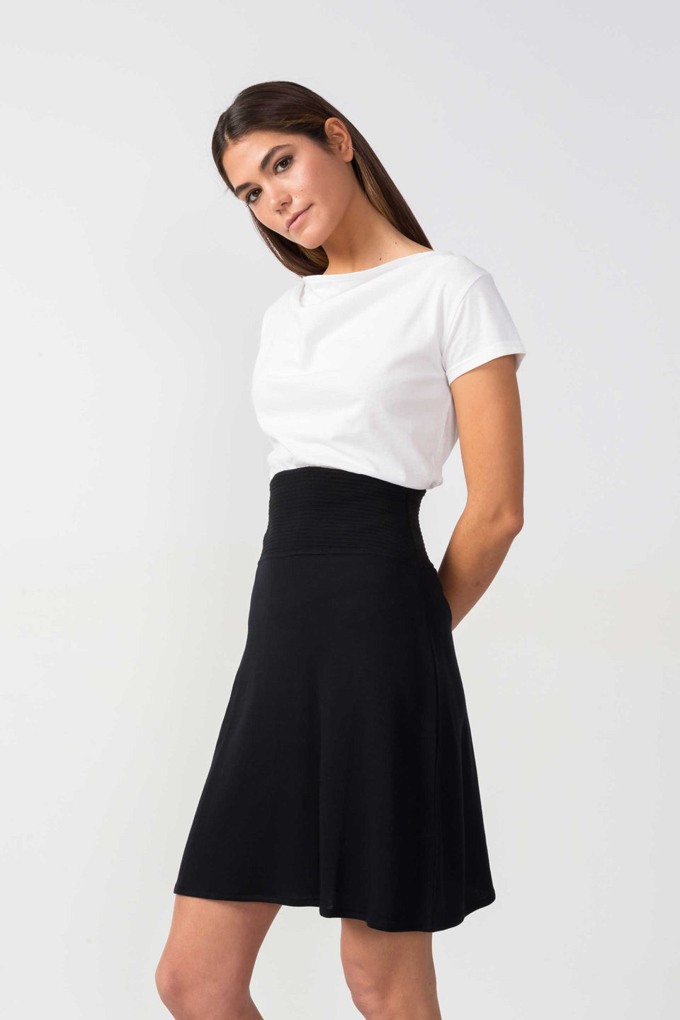 Kelby Skirt in Black