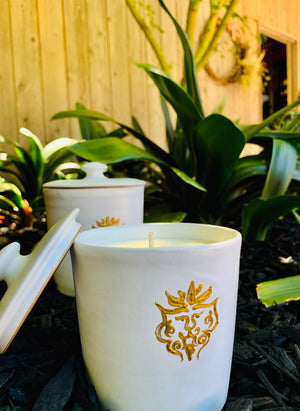 Sandalwood & Amber Holiday Candles