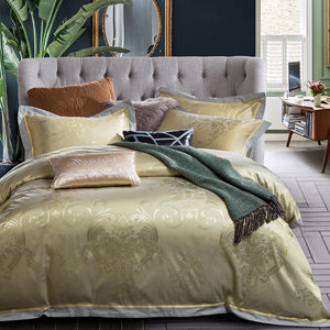 Svetanya Jacquard Bedsheet Pillowcases