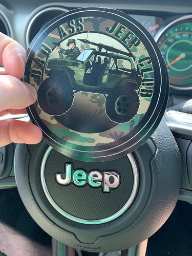 Bad Ass Jeep Club Decal