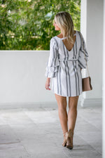 BEAUTIFUL DAY BELL SLEEVE DRESS