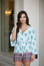 HEART OF PALMS ROMPER