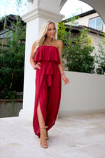 YOU HAD ME AT MERLOT JUMPSUIT