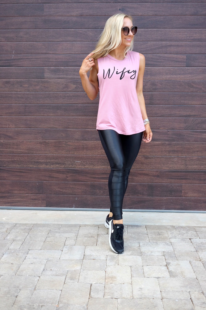 WIFEY- GRAPHIC TANK