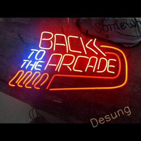 Back to the Arcade (Business - Arcade) Neon Sign