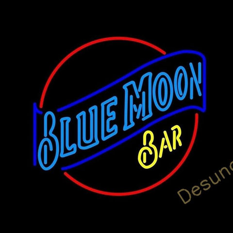 Blue Moon Bar (Alcohol - Beer) Neon Sign