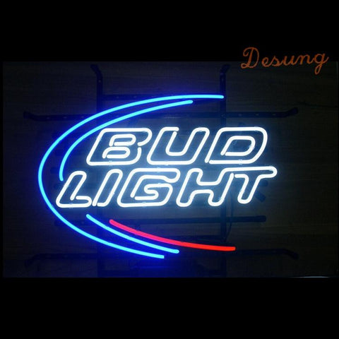 Desung Budweiser Bud Light (Alcohol - Beer) Neon Sign