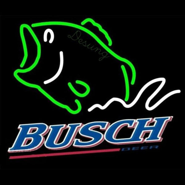 Busch Fish (Alcohol - Beer) Neon LED Sign