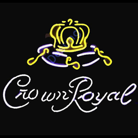 Crown Royal Logo Neon Sign
