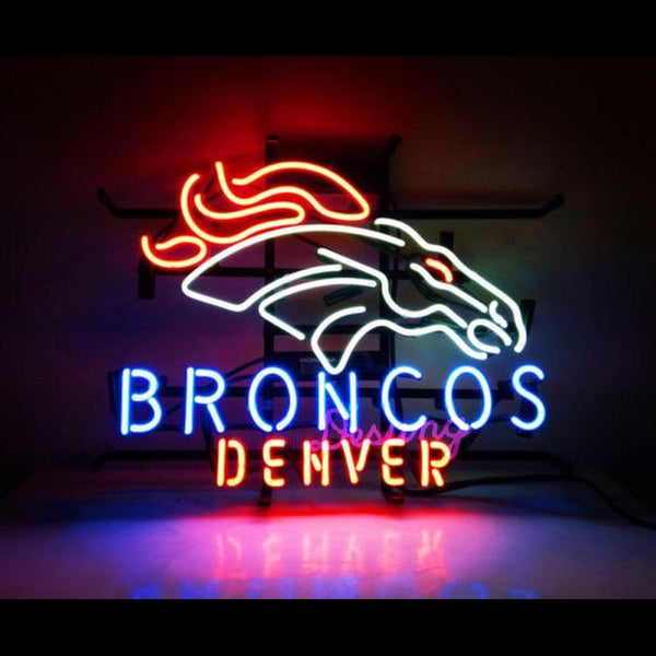 Desung Denver Broncos (Sports - Football) NFL neon sign