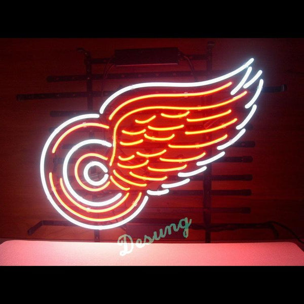 Desung Detroit Red Wings (Sports - Ice Hockey) neon sign