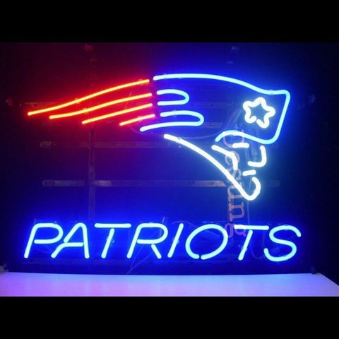 Desung England Patriots Super Bowl NFL (Sports - Football) Neon Sign