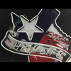 Desung Miller High Life Texas Star (Alcohol - Beer) vivid neon sign, front view, turned off
