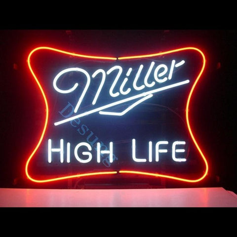 Miller Lite High Life alcohol beer bar man cave Neon Sign
