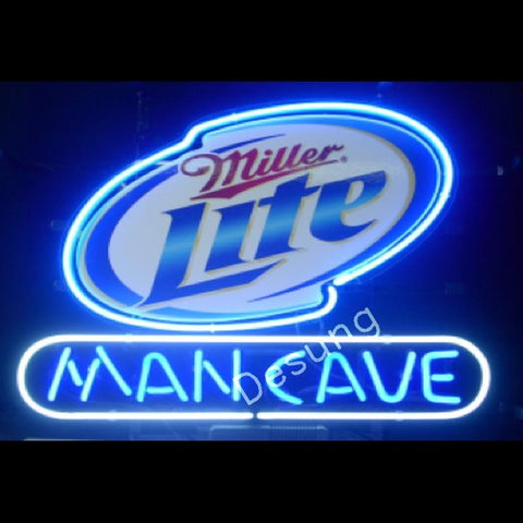 Miller Lite Man Cave alcohol beer Neon Sign