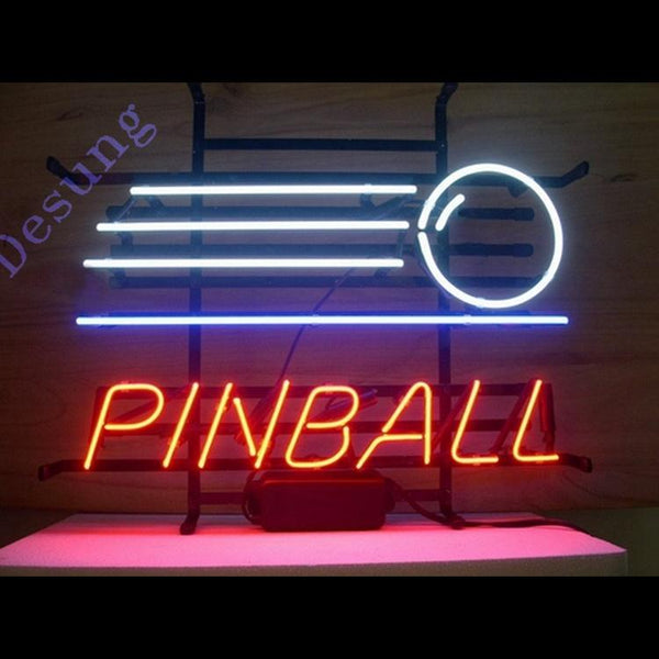 Pinball Game Arcade Business Arcade Neon Sign