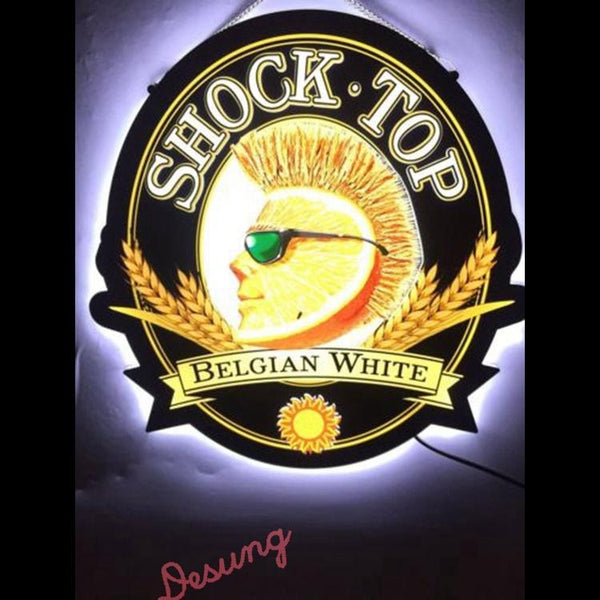 Desung Shock Top Belgian White Anheuser Busch (Alcohol - Beer) LED sign