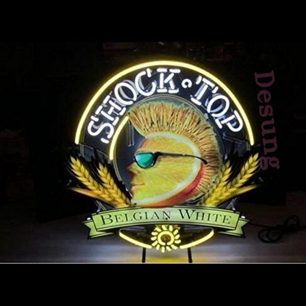 Shock Top (Alcohol - Beer) Neon Sign