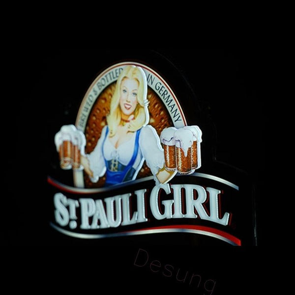 St. Pauli Girl 3D Vivid LED sign