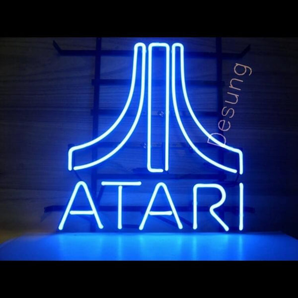 "Desung ATARI Neon Sign business 118BS069ANS  1582  18""  arcade"