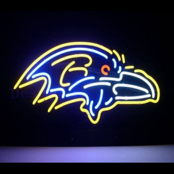 "Desung Baltimore Ravens Neon Sign sports 117SP542BR 2055 17"" football"