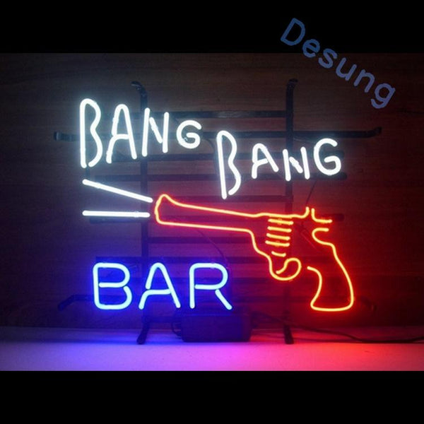 "Desung Bang Bang Bar Neon Sign business 118BP052BBB 1565 18"" bar"