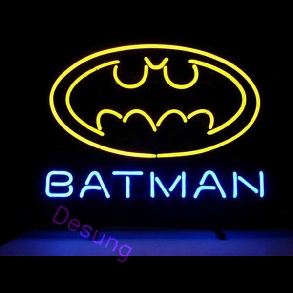Desung Batman Superhero Neon Sign personal 118OT128BSN 1641 18""