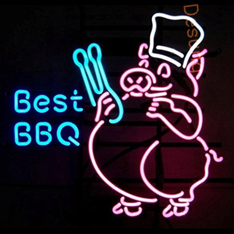 "Desung Best BBQ Neon Sign business 118BS127BBN 1640 18"" restaurant"